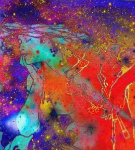 L'artiste a le sentiment de la fonction sacrée de son oeuvre.